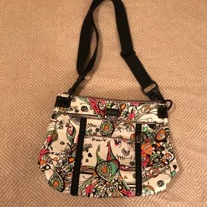 Sakroots - Peace / Free Verse crossbody bag